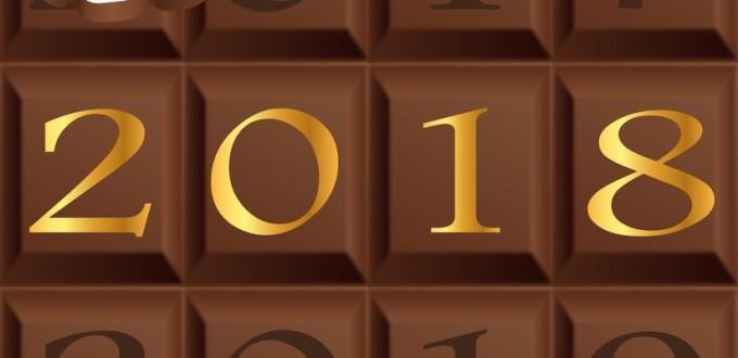 2018 - chocolat - carte de vux - anne - chocolatier - chocolaterie - carr de chocolat